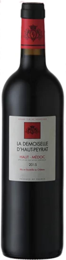 Château Peyrat-Fourthon Demoiselle d\' Haut-Peyrat Fourthon 2014 à 2016 Haut-Médoc Carton de 6 Bouteilles