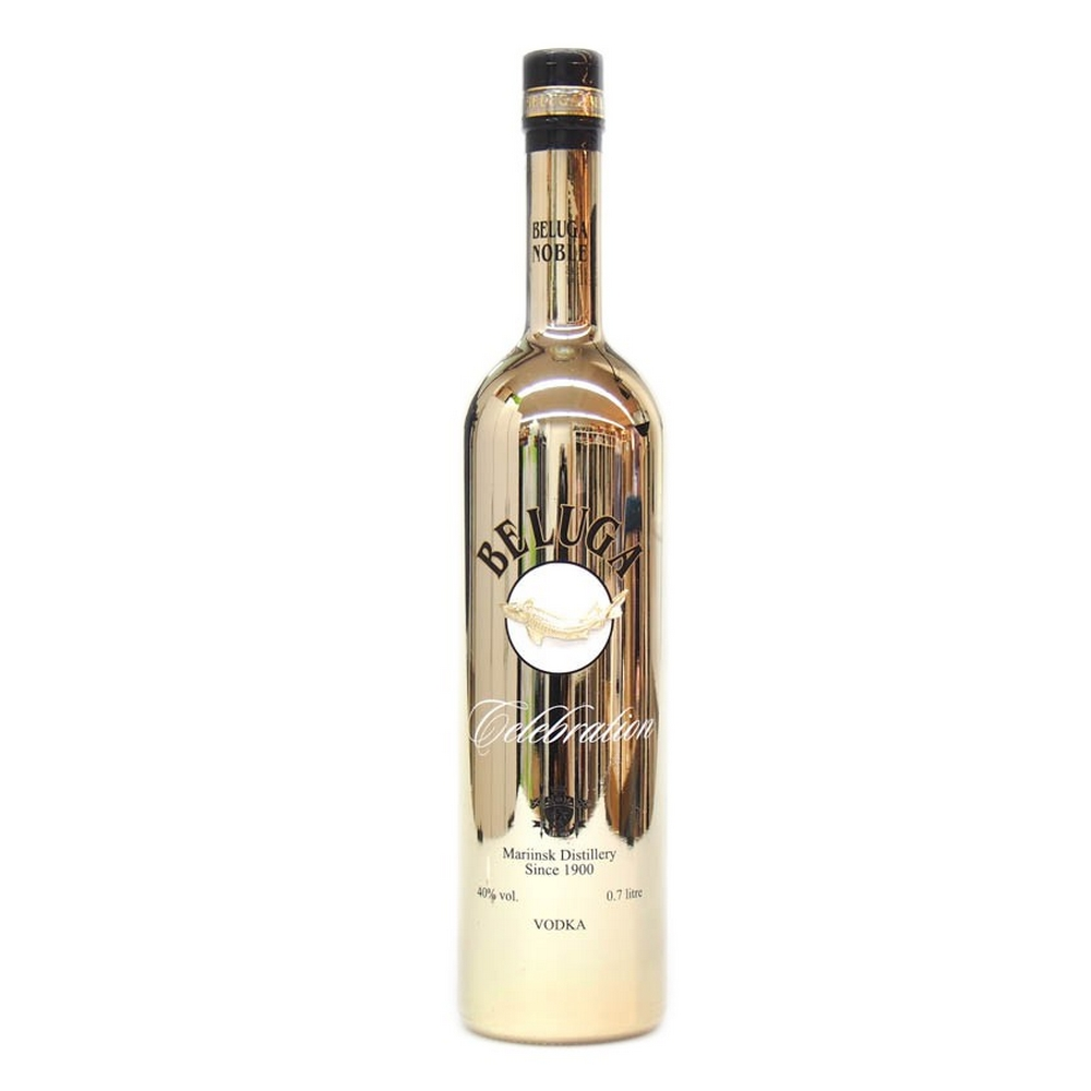 Vodka Beluga Celebration Gold Noble Russian