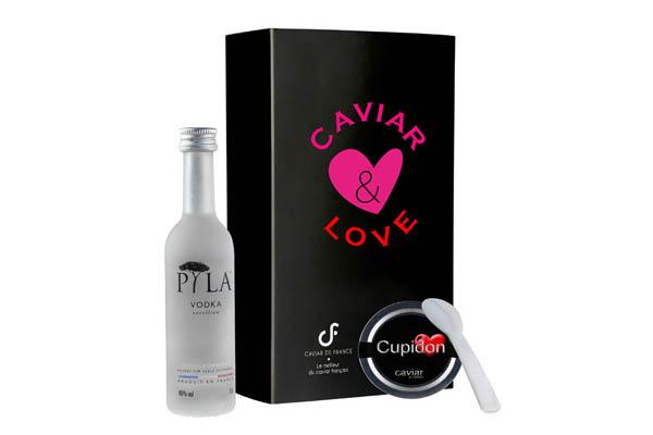 Coffret Caviar et Love et sa vodka - Edition Limitée