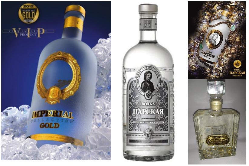 Pack découverte de 4 Vodkas Russes et Polonaise