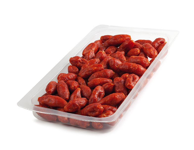 Snacks Mini Chorizo Clean Label de 5g x 100 pièces