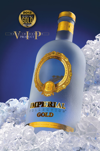 Jéroboam vodka Imperial Collection Gold