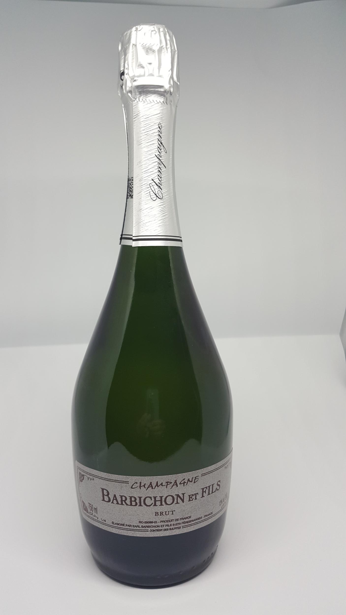 Champagne Barbichon et Fils - Cuvée Diamantine - Carton de 6 bouteilles