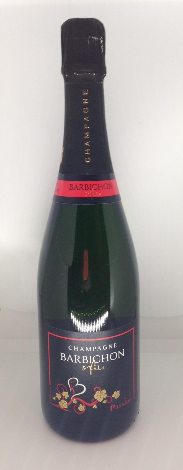 Champagne Barbichon et fils Passion - Carton de 6 bouteilles