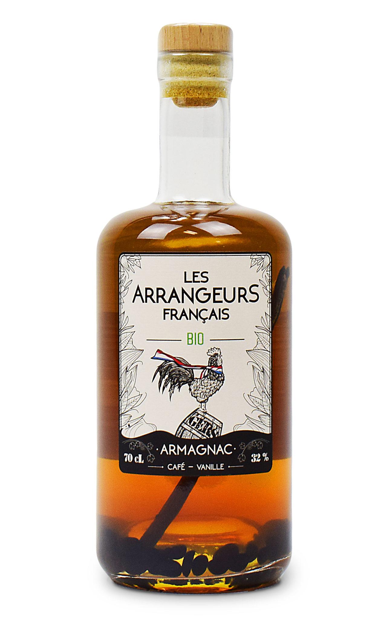 Armagnac AOC arrangé Bio Café Vanille