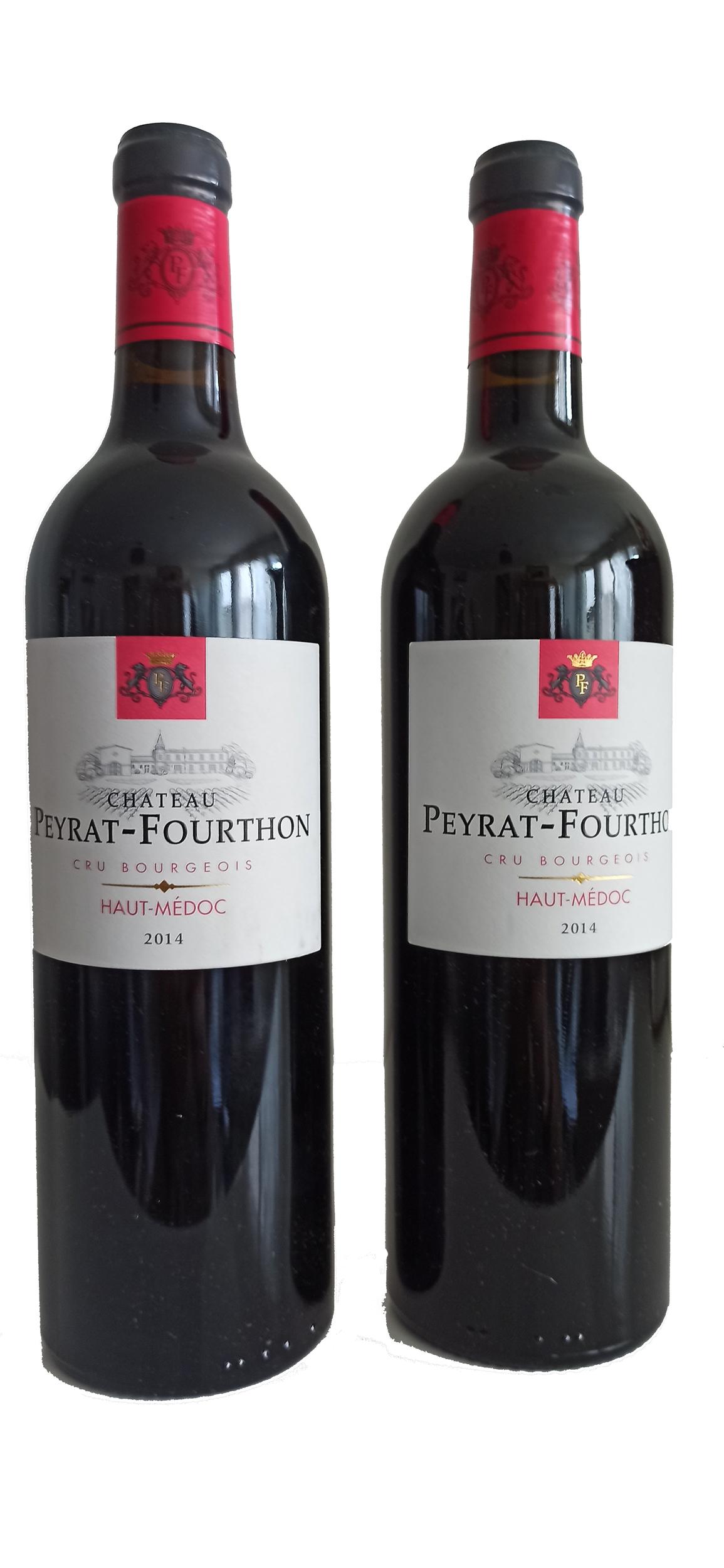 Château Peyrat-Fourthon Haut Médoc 2014 Rouge par 2 bouteilles