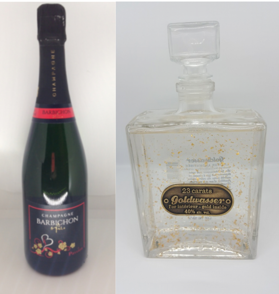 PACK DECOUVERTE Champagne Barbichon & Fils Passion + Vodka Goldwasser