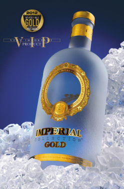 Vodka Impérial Collection Gold