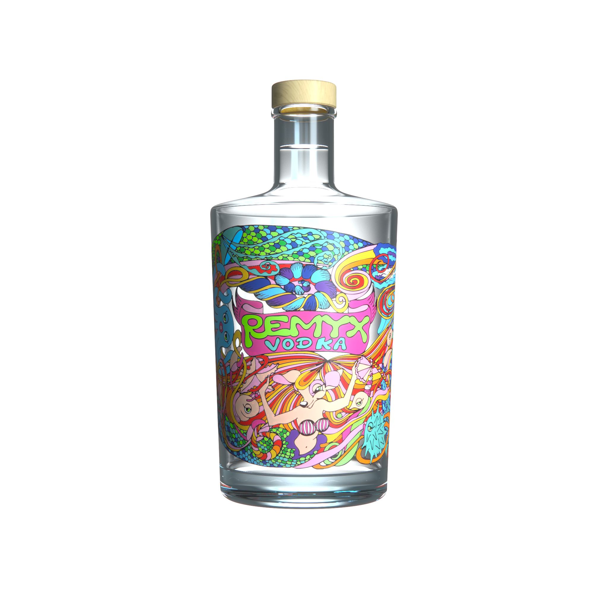 Remyx Aquatique Vodka française