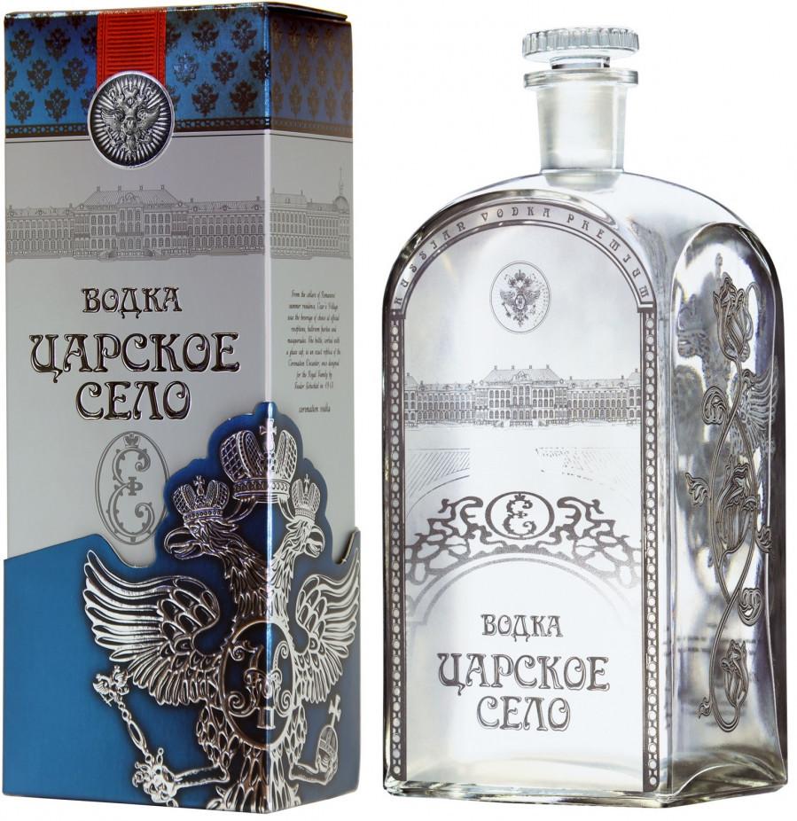 Vodka Tsarskoe Selo Super Premium avec étuis