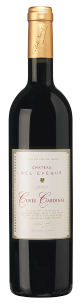 Château Bel Evêque Cuvée Cardinal Rouge 2018 - Vins Pierre Richard - AOC CORBIÈRES