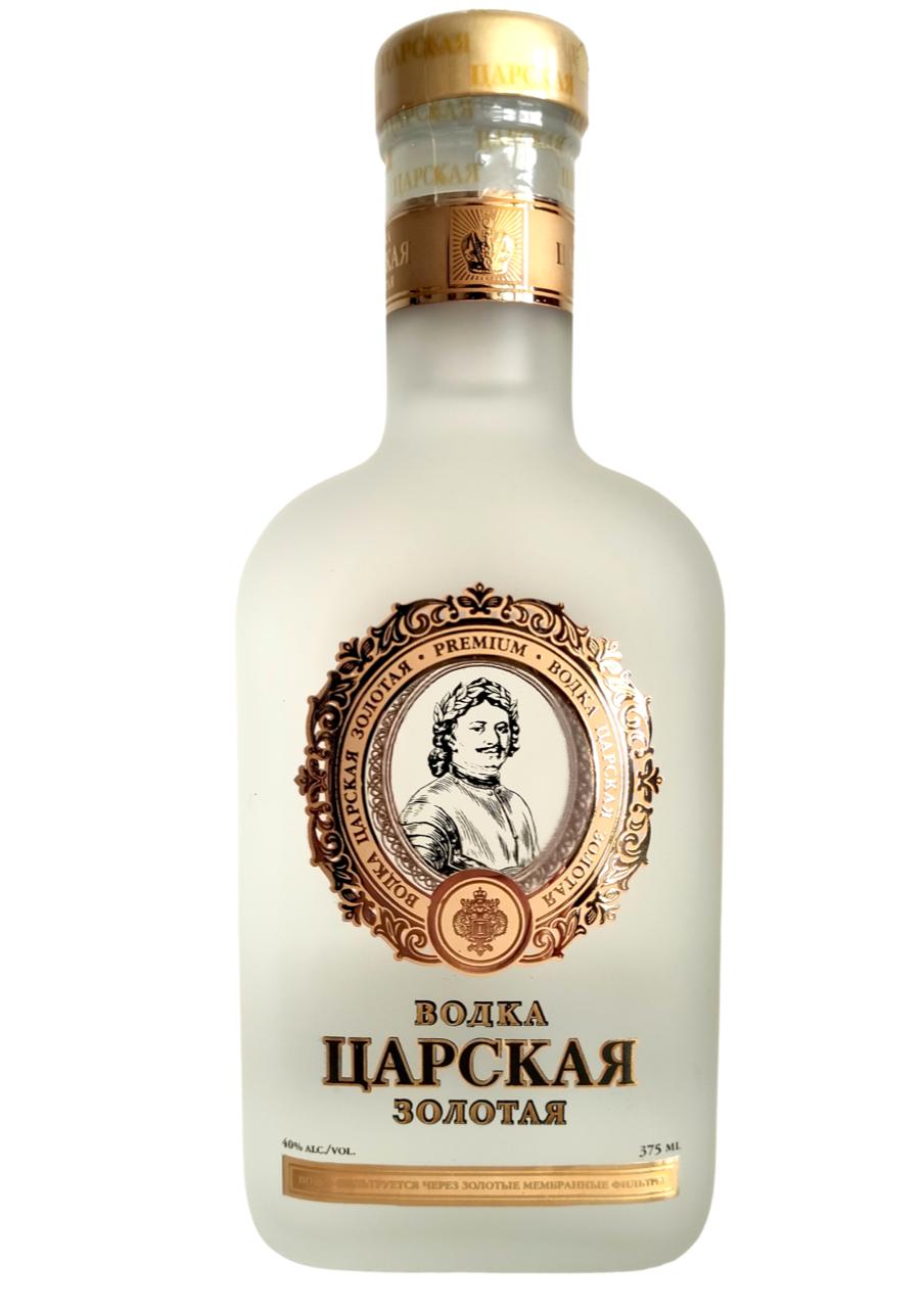 Vodka Tsarskaya Gold Flasque