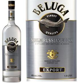 Vodka Beluga Noble Russe Classic Export