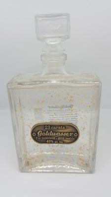 Vodka Goldwasser polonaise paillettes d' or www.luxfood-shop.fr