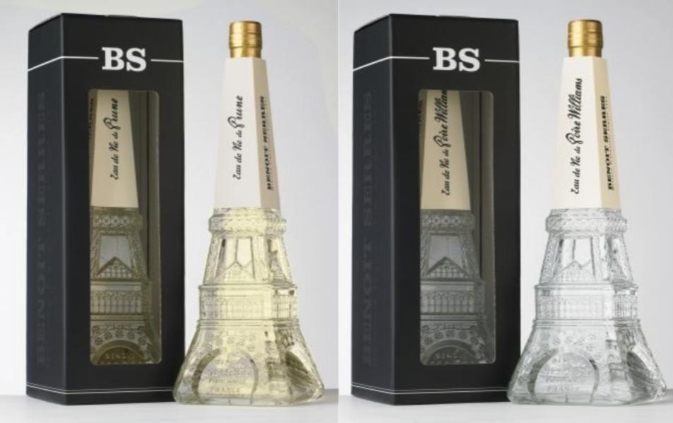 Pack Eau de Vie Prune et Poire Williams Tour Eiffel