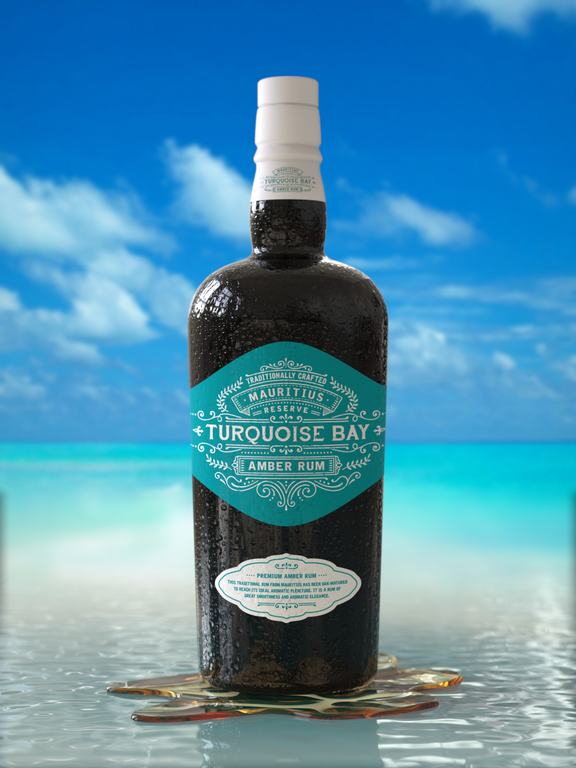 Rhum Turquoise Bay www.luxfood-shop.com