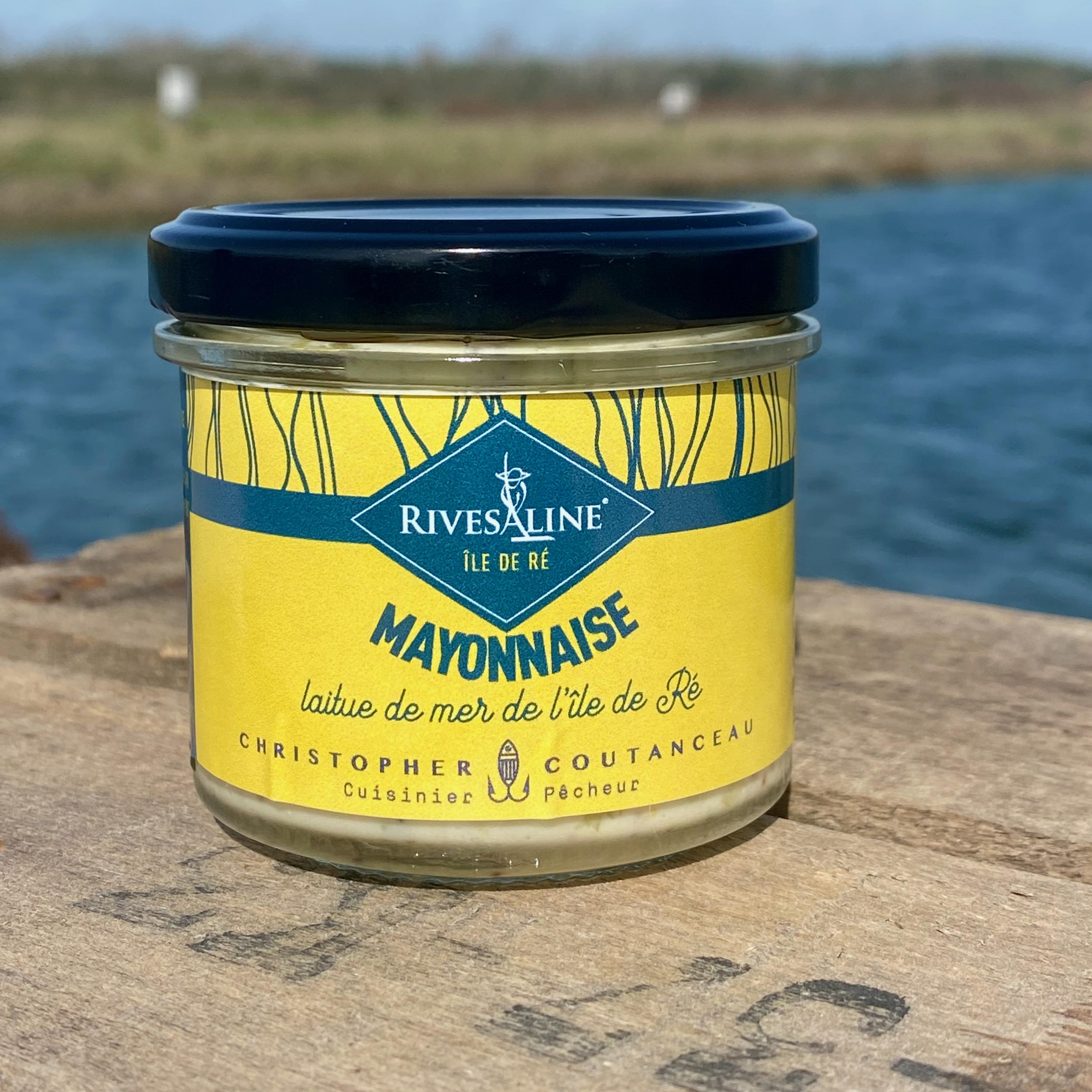 Mayonnaise laitue de mer 100 g - RIVESALINE