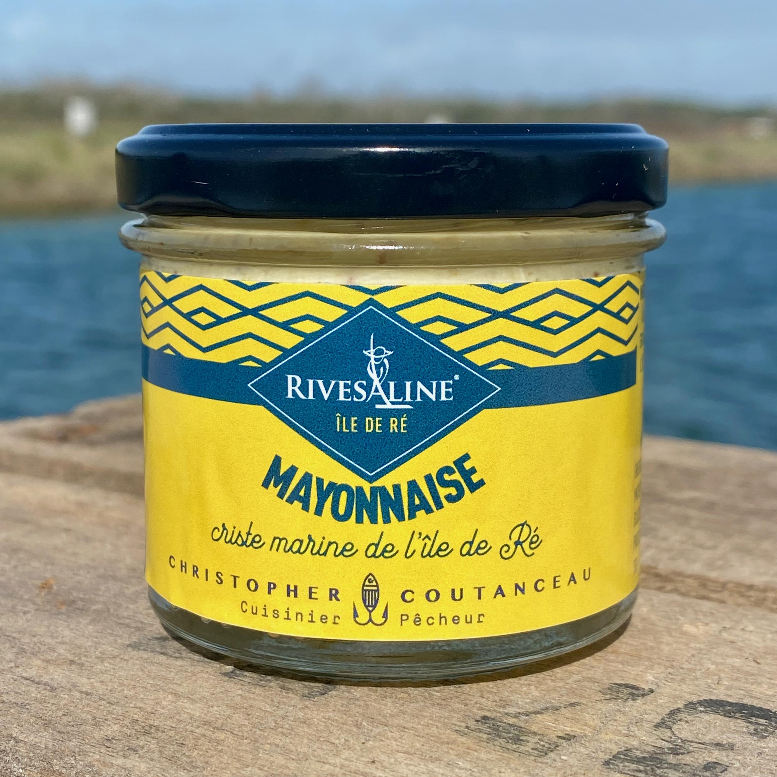 Mayonnaise criste marine 100 g - RIVESALINE