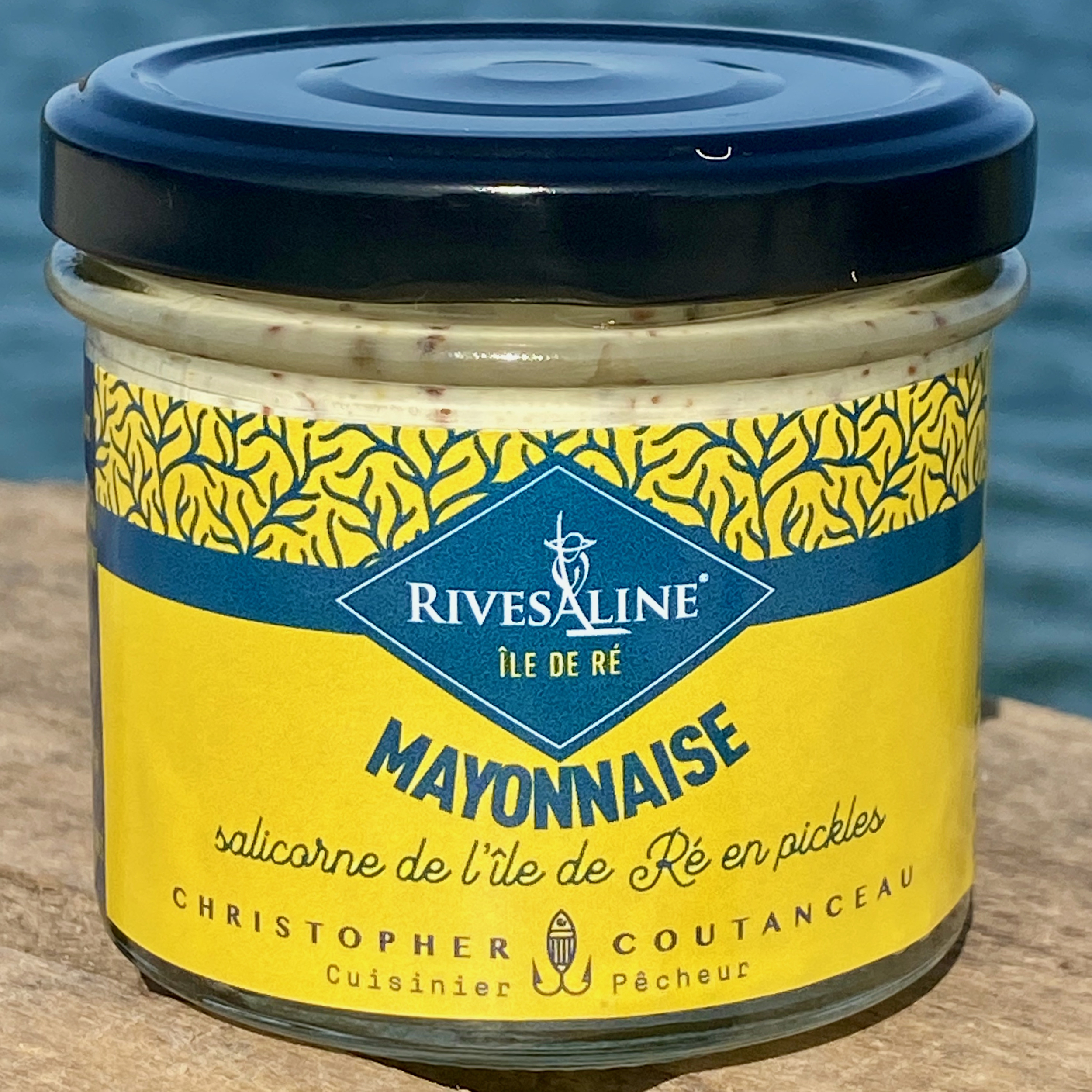 Mayonnaise salicorne en pickles 100 g - RIVESALINE