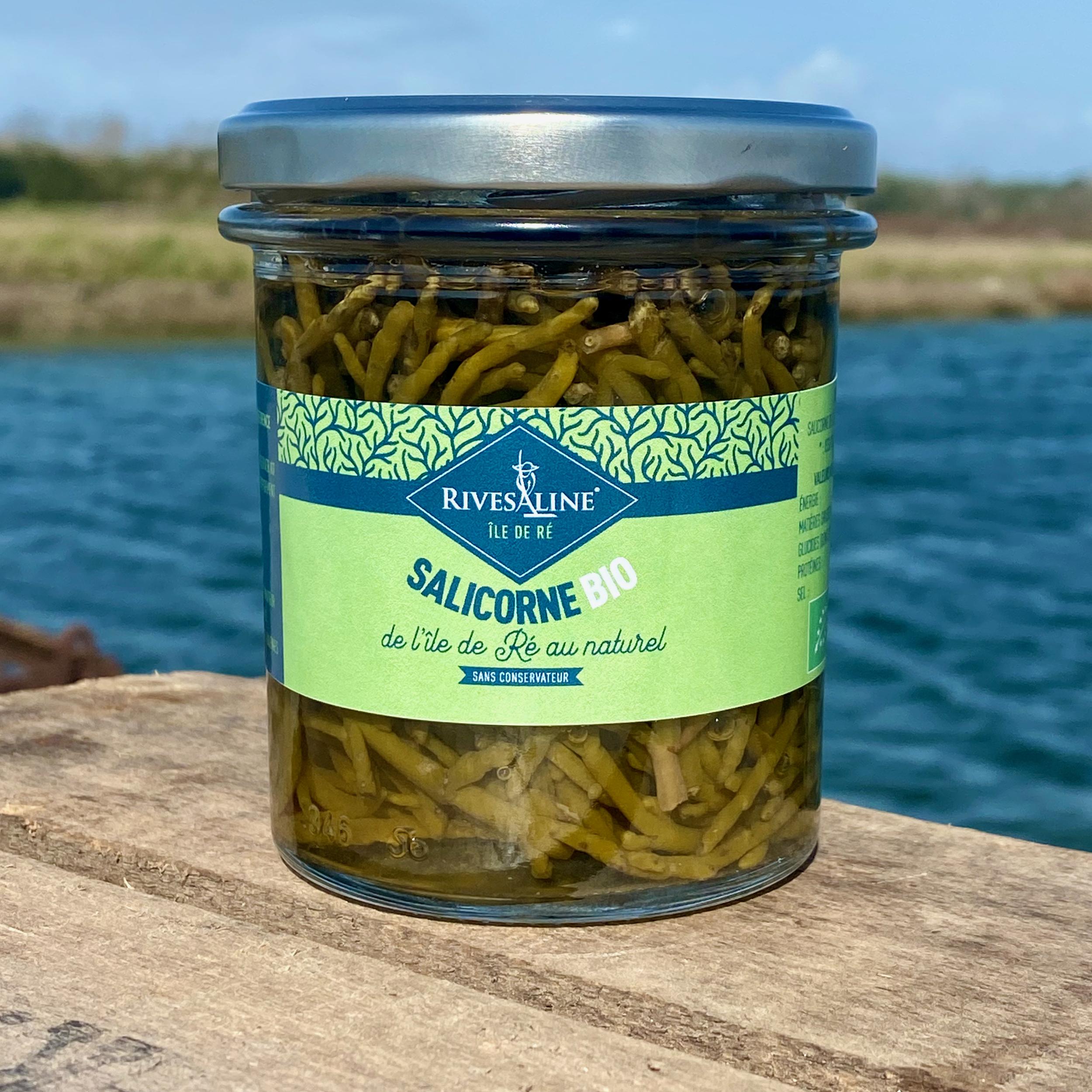Salicornes au naturel BIO 120 g - RIVESALINE