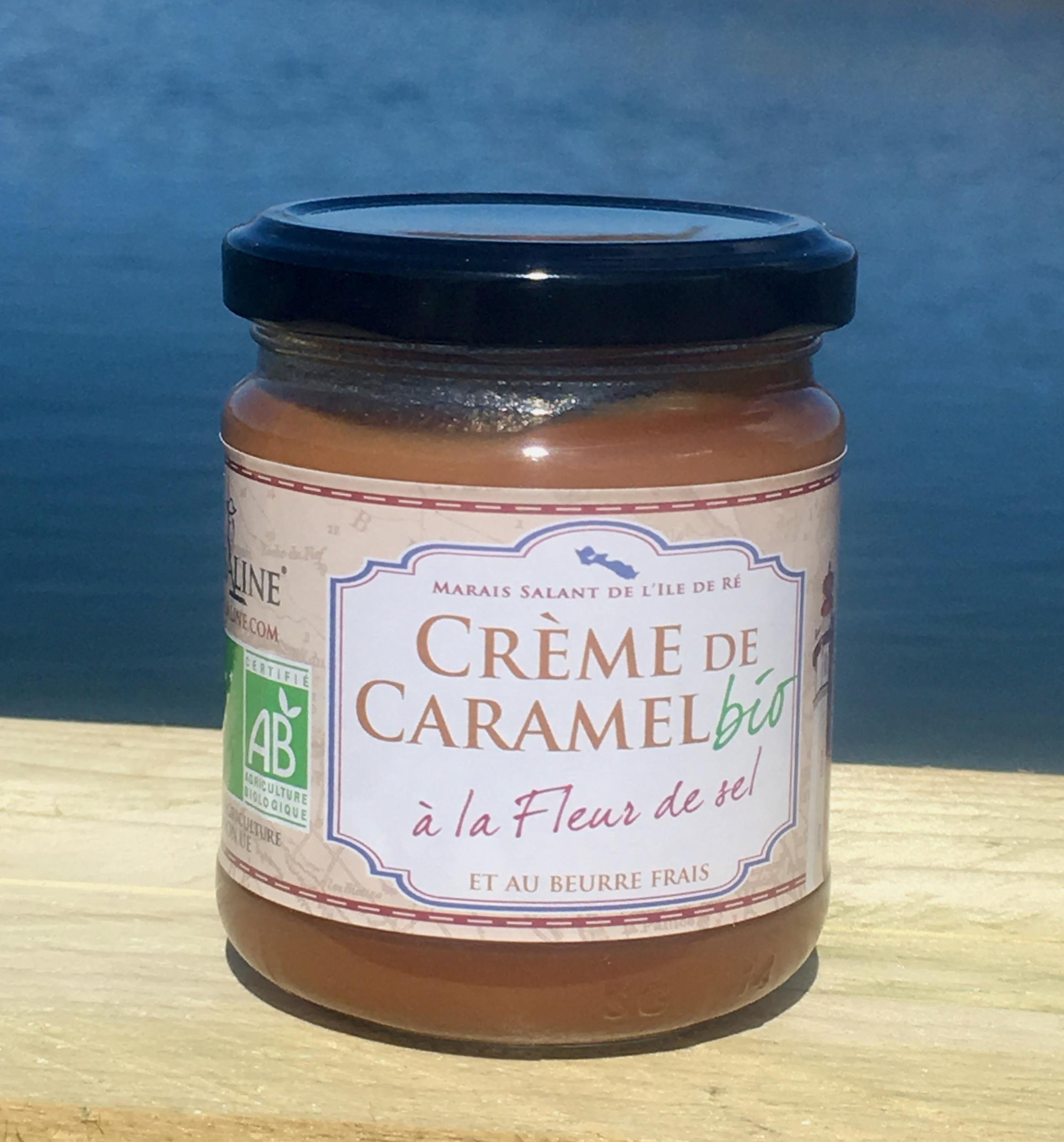 Crème de caramel BIO 200 g - RIVESALINE