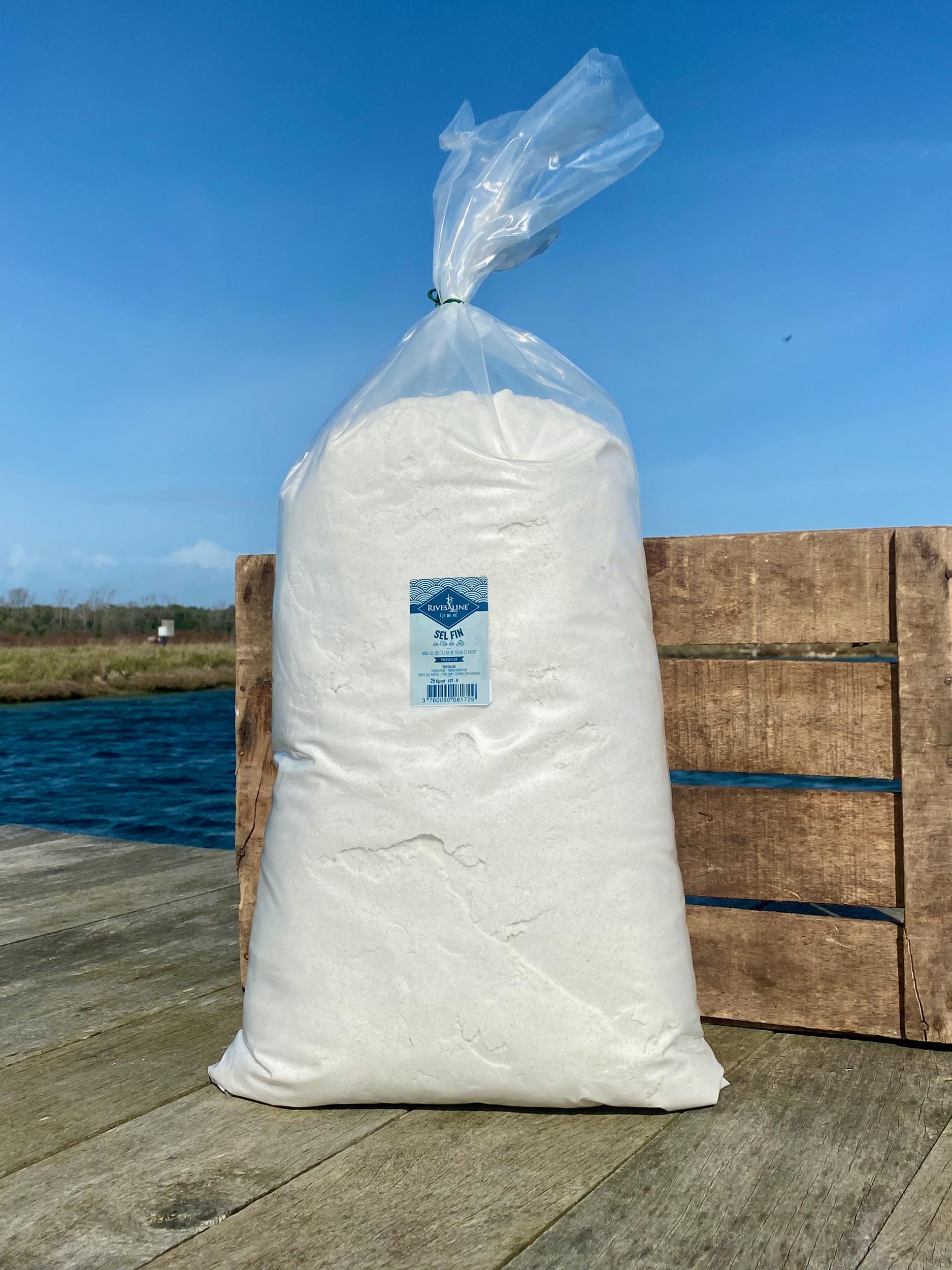 Sel Fin 25 kg - RIVESALINE