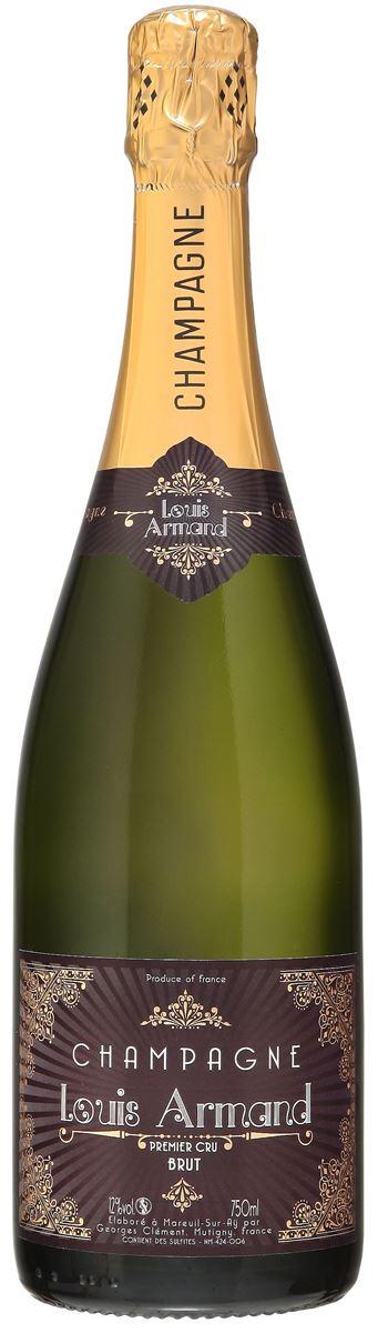 Champagne Louis Armand Premier Cru Brut Blanc Carton de 6 bouteilles