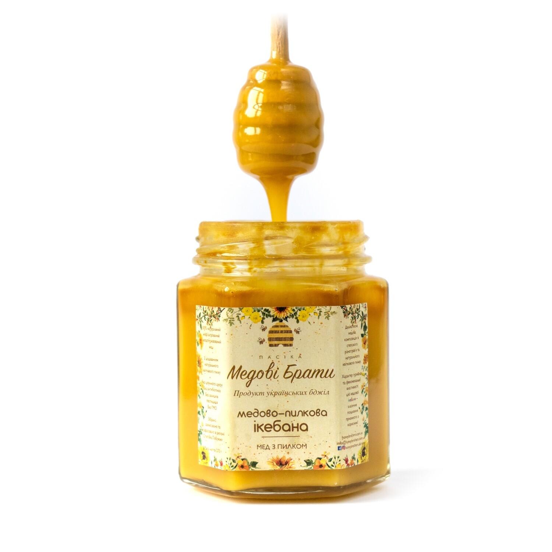 Miel pollen Ikebana Frères de miel
