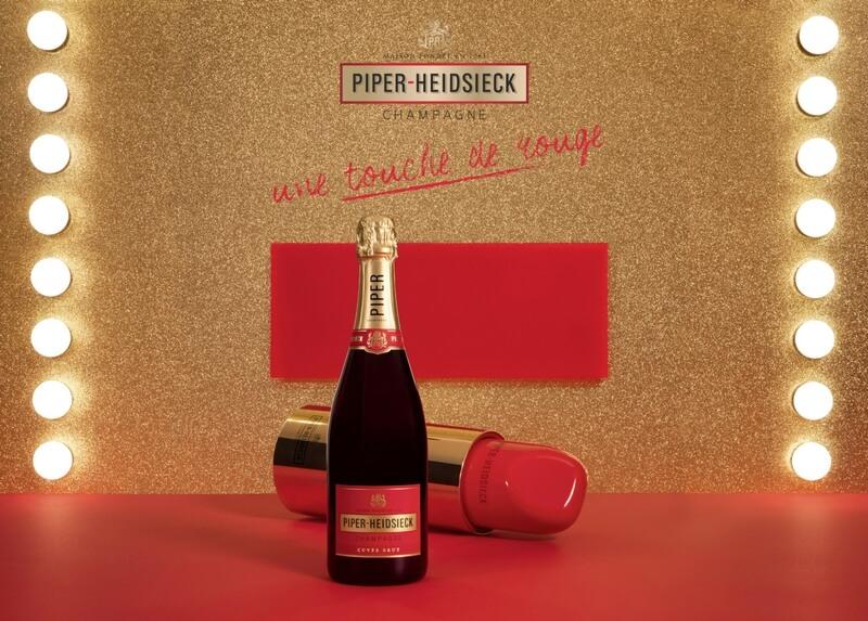LE ROUGE Coffret Champagne Piper-Heidsieck Cuvée Brut édition limitée
