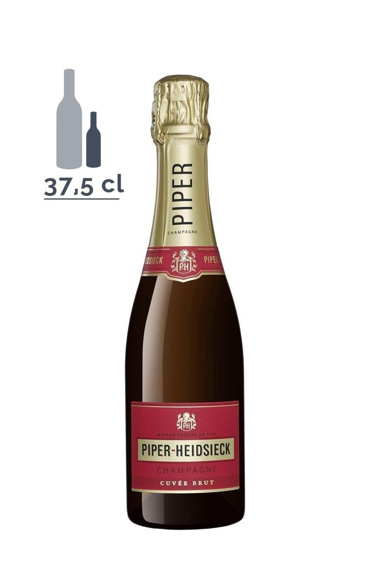 Champagne PIPER-HEIDSIECK, CUVÉE BRUT CHAMPAGNE AOP BLANC - 37,5 CL