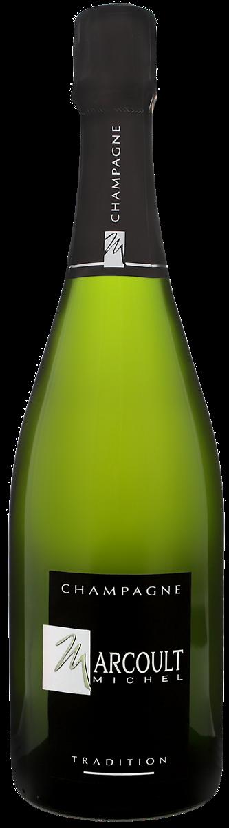 Champagne Michel Marcoult Tradition Brut AOP Blanc Carton de 6 bts