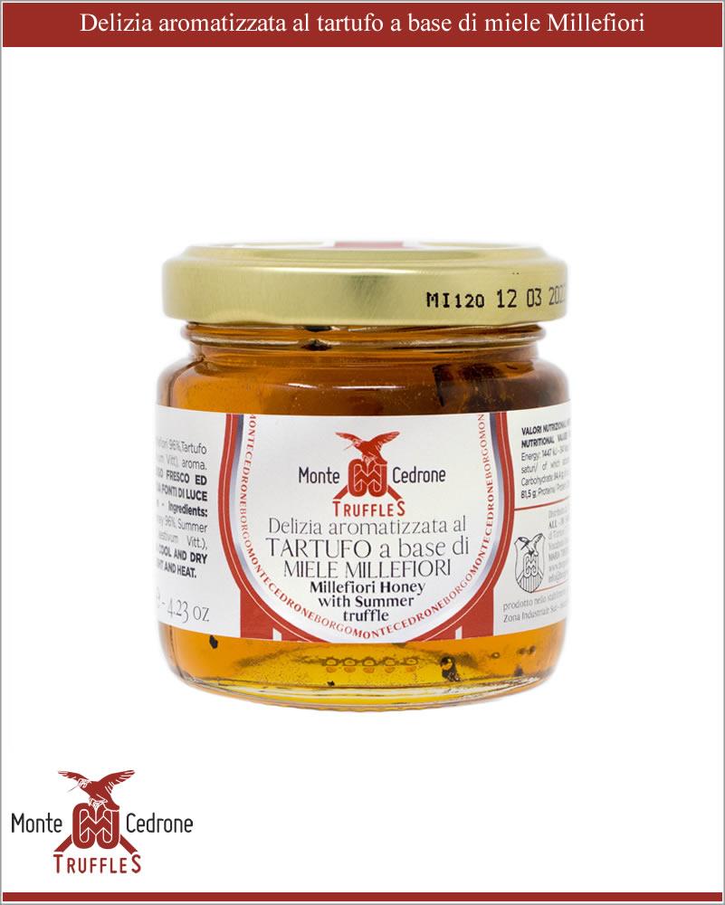 Truffe à base de miel Mille fleurs Monte Cedrone - www.luxfood-shop.fr-1