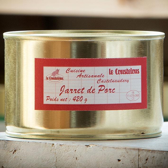 JARRET DE PORC 420g - Le Coustelous