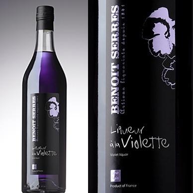 Liqueur a la violette Benoit Serres