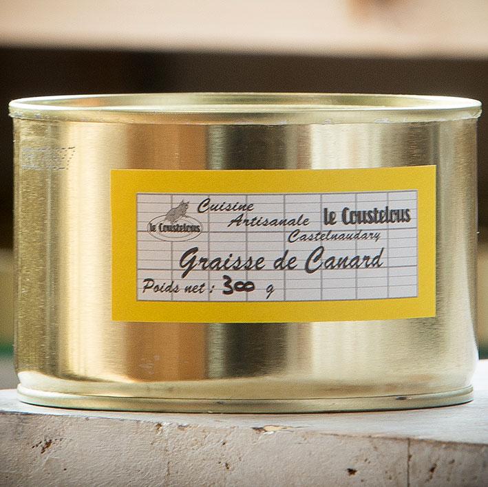GRAISSE DE CANARD boite 300g - Le Coustelous