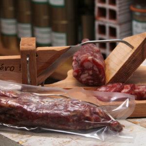 Saucisson sec de porc 240g - Le Coustellous