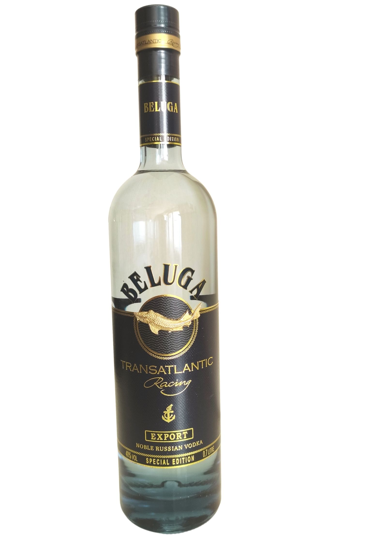 Vodka Beluga Transatlantic Racing Export Edition limitée