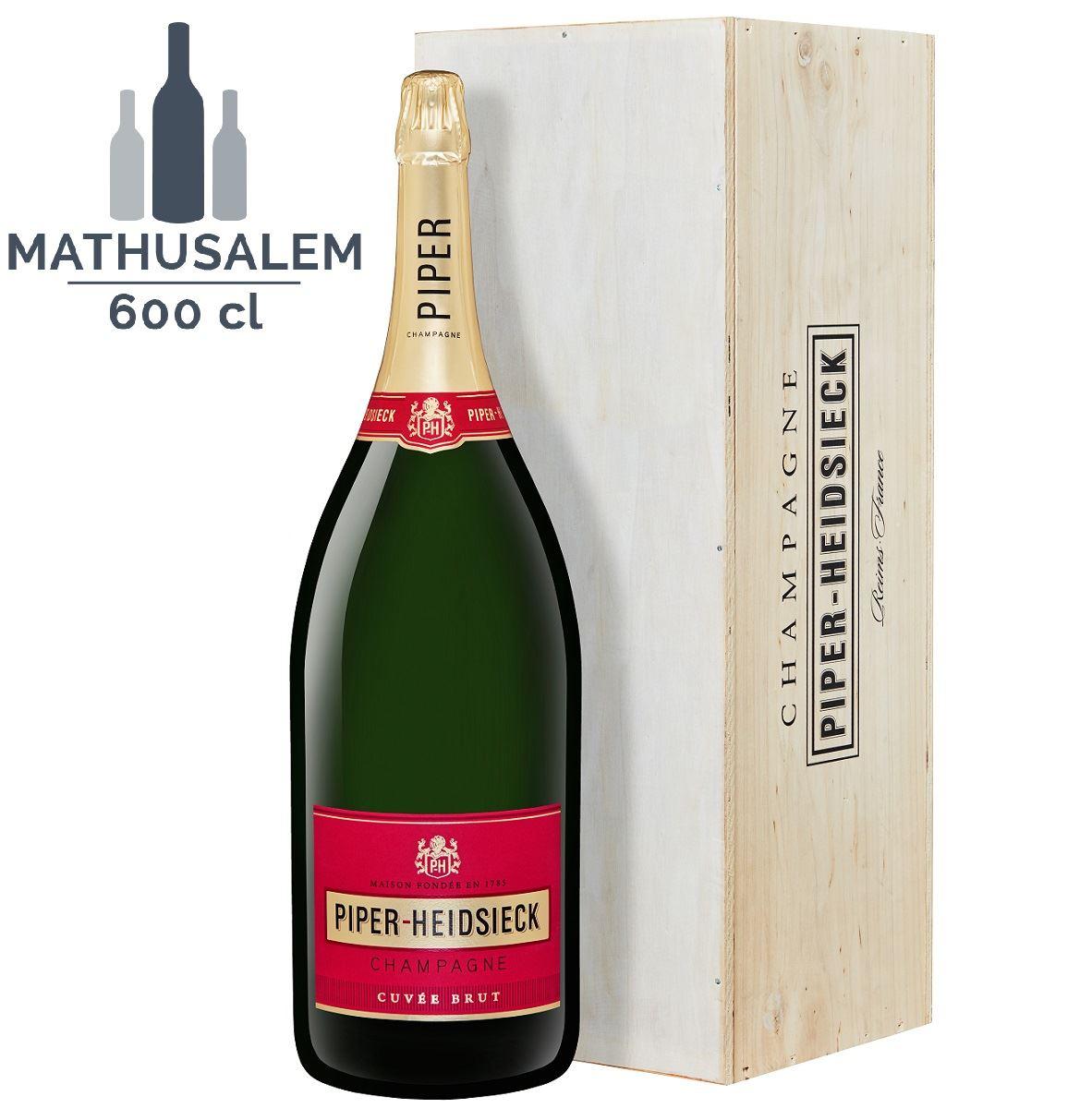 Champagne Mathusalem Piper-Heidsieck 6 litres