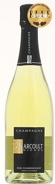 Champagne Michel Marcoult Cuvée Francis 100% Chardonnay Blanc Carton 6 Bts