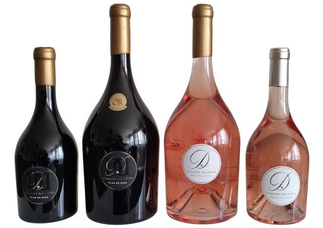Gamme complète Vin Domaine DALADIER AOP 2 Magnums + 2 bouteilles 75cl (Rouge et Rosé)