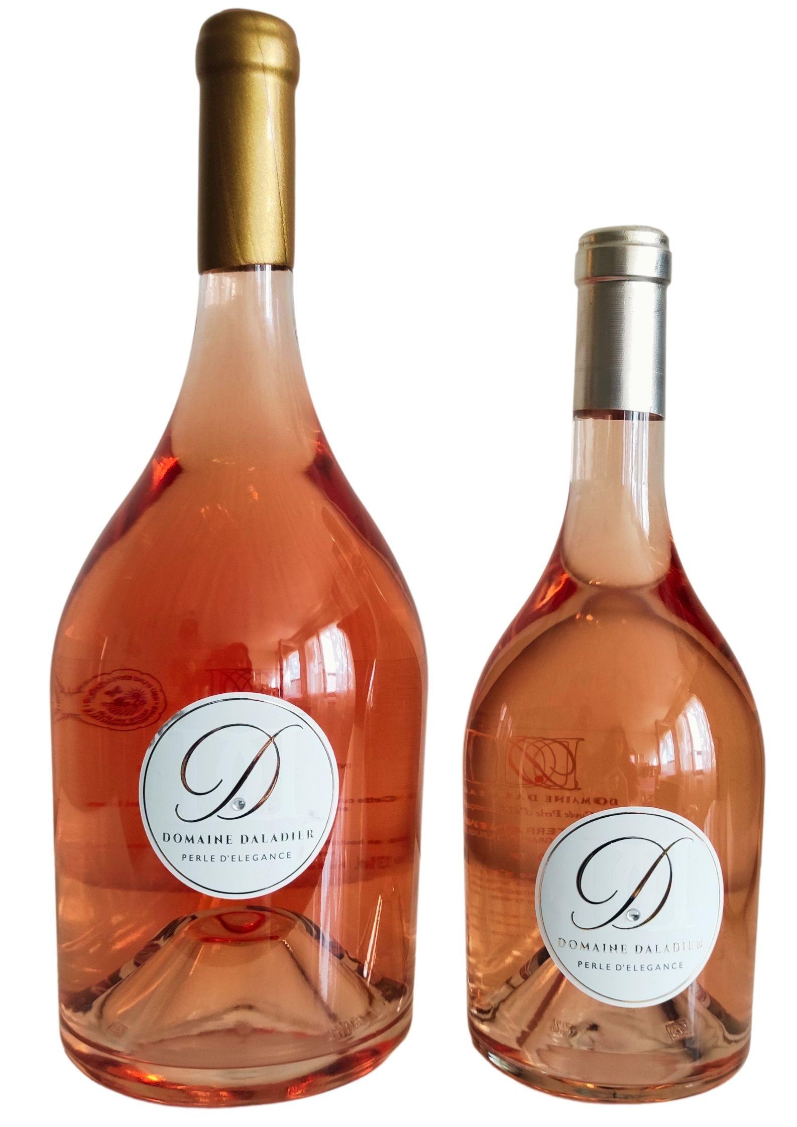 Duo Magnum + 75cl Domaine DALADIER Cuvée Perle d' Élégance rosé IGP Méditaranéée