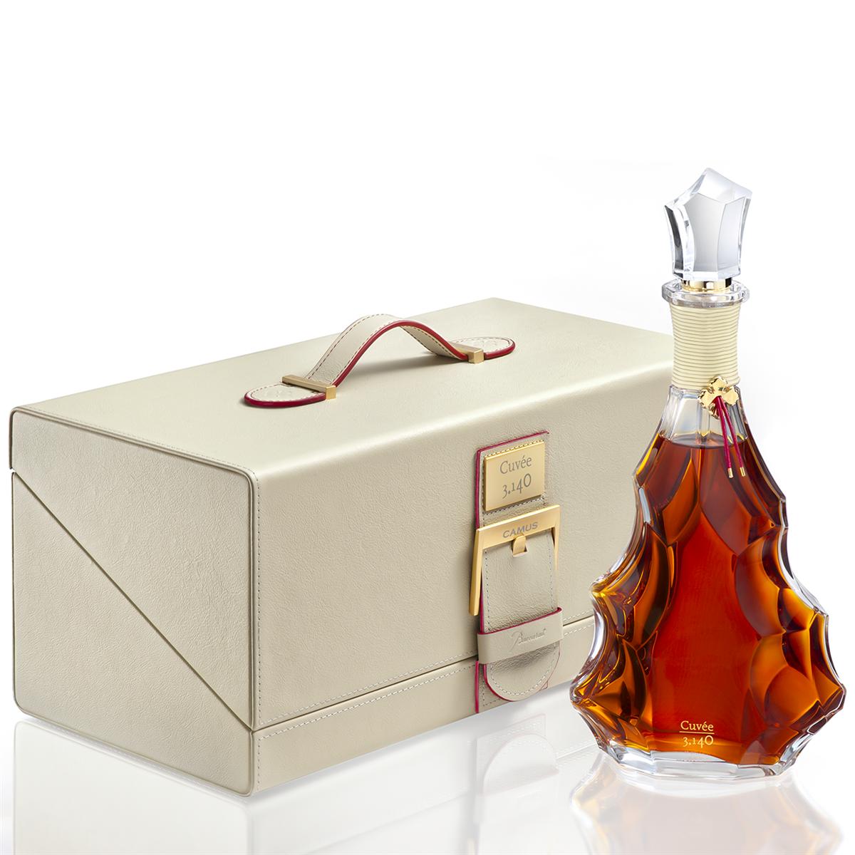 Cognac Camus Masterpiece Collection Cuvée 3.140 en coffret Cognac AOP brun