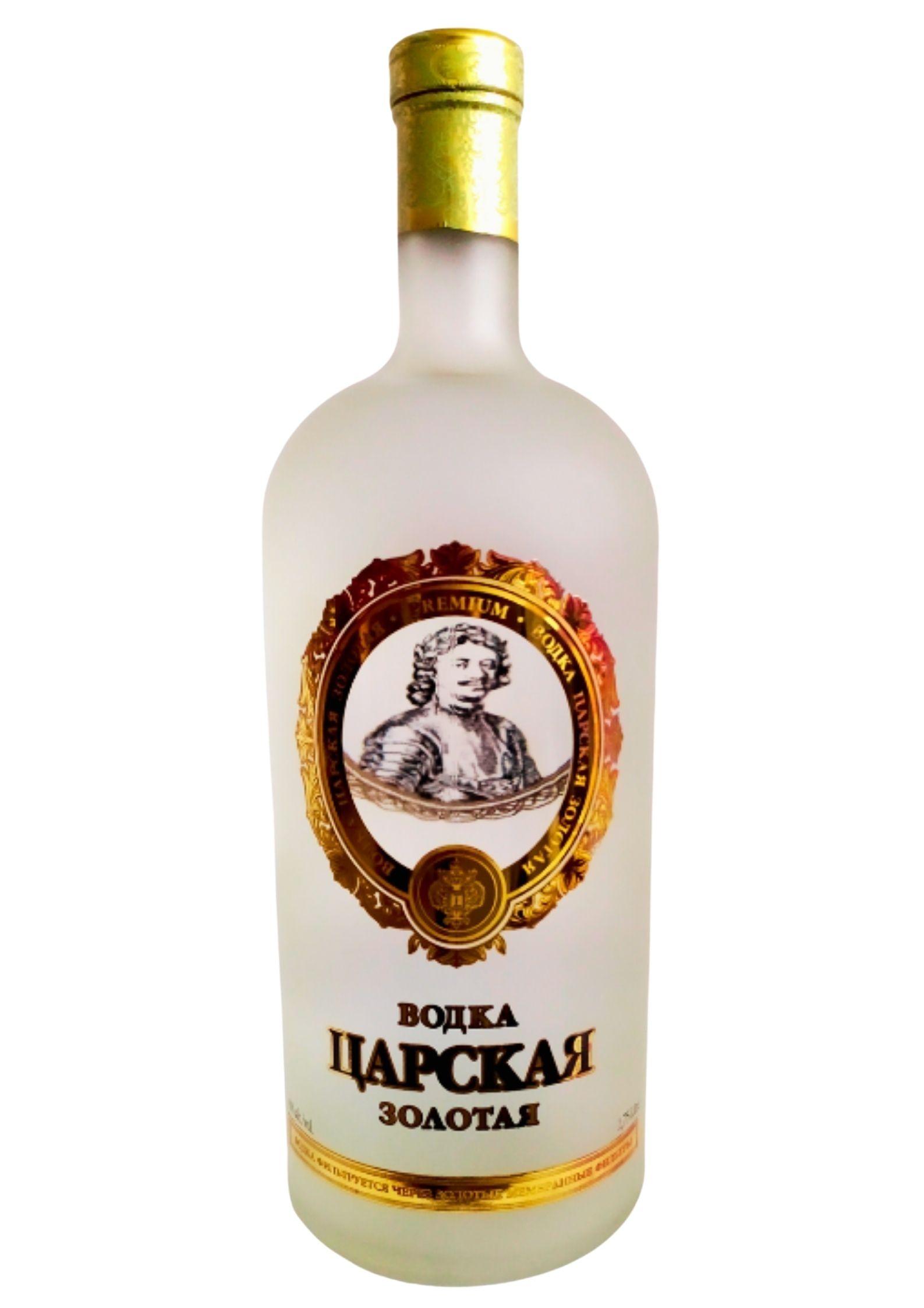 Magnum Vodka Russe Tsarskaya Gold