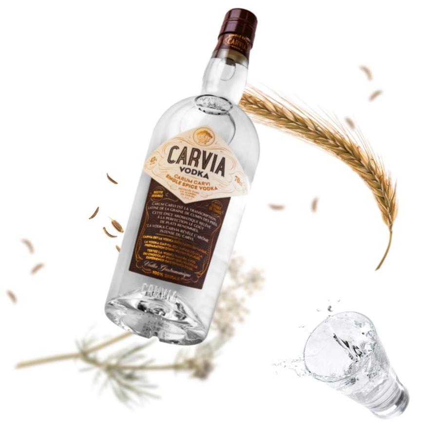 Carvia Vodka vodka française gastronomique www.luxood-shop.fr