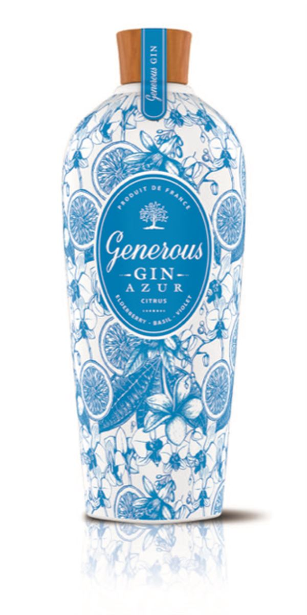 Generous Gin Azur 70 cl