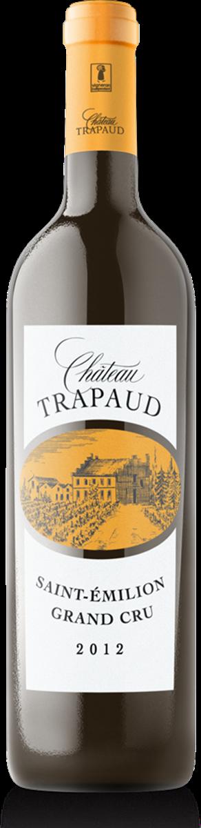 Château Trapaud 2012 Vin biologique Saint Emilion Grand Cru Rouge x6bts