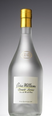 Eau de vie de poire williams Benoit Serres