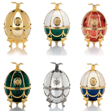 Vodka Impérial Collection Super Premium Oeuf Fabergé classique