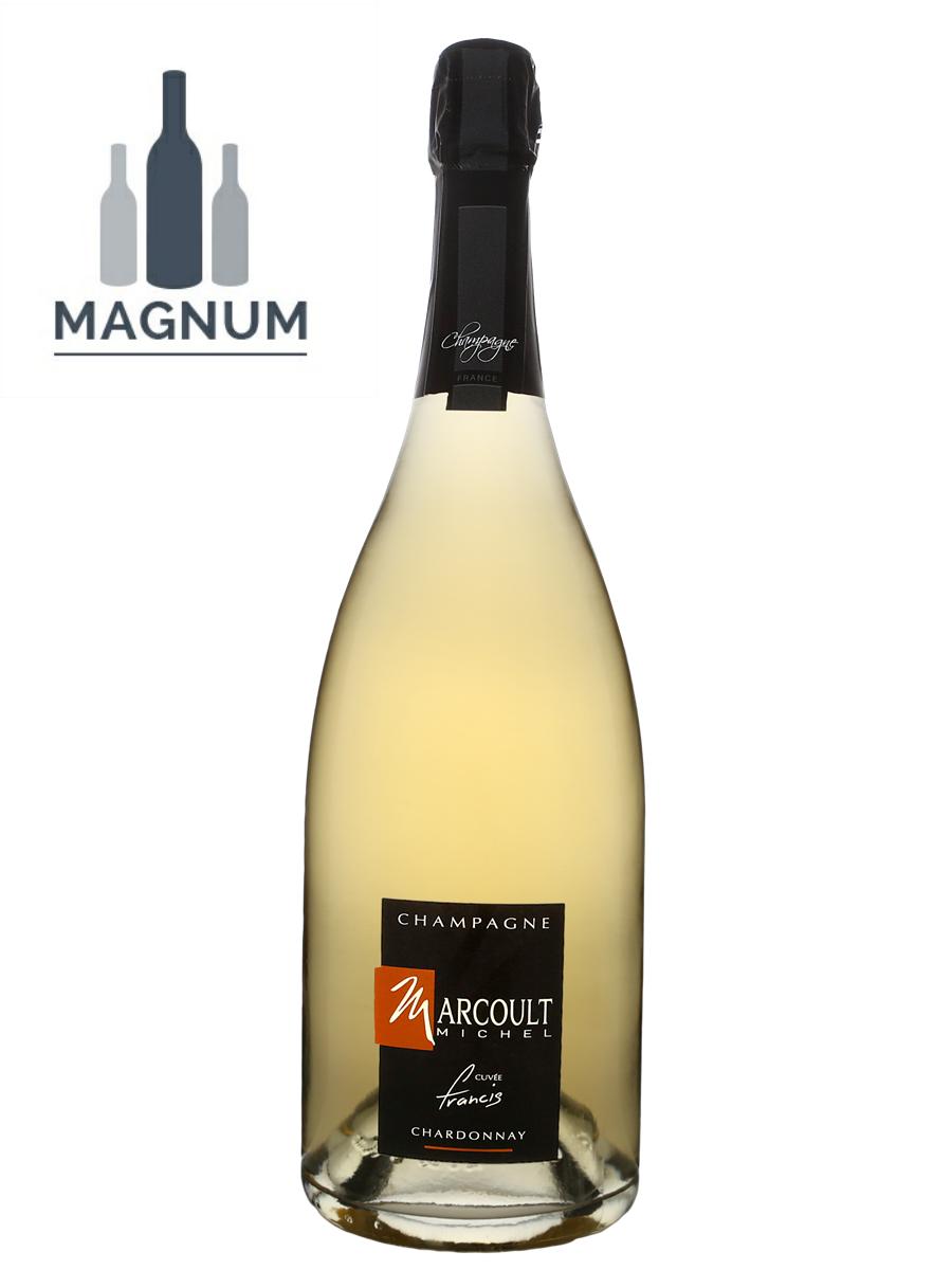Champagne Michel Marcoult Cuvée Françis Brut Blanc 100% chardonnay - Magnum