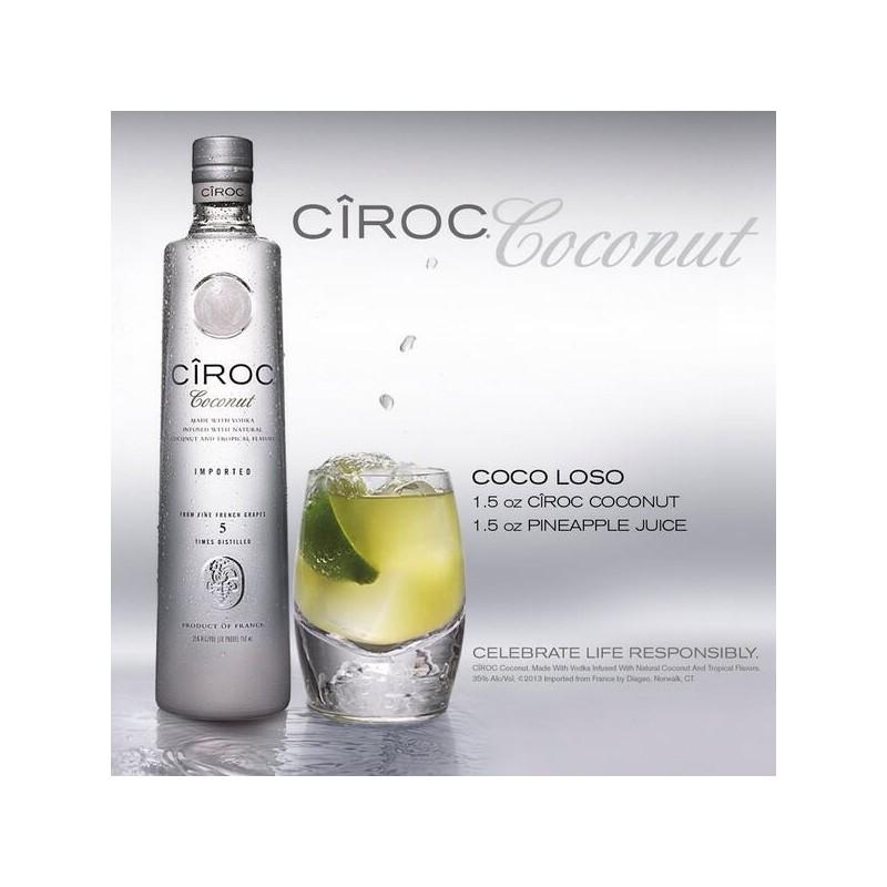 Vodka Cîroc Coconut Noix de coco